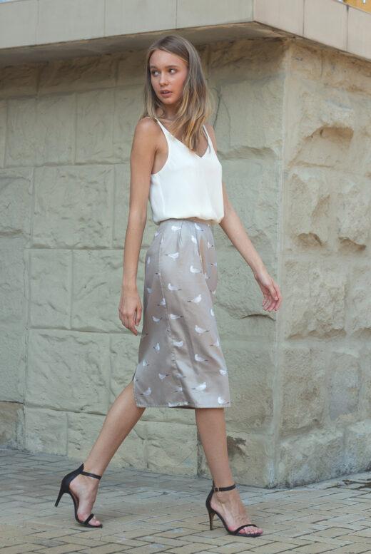 side-satin-pencil-skirt